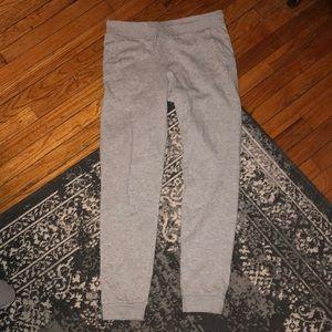 H & M gray sweat pants